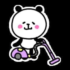 にっこりパンダ1【日常1】