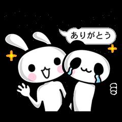 ■□面白いウサギとパンダ□■