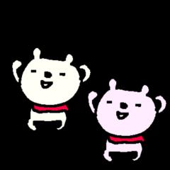 ニヤニヤ笑えるクマさん funny bear