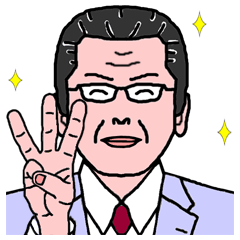 [LINEスタンプ] おとんの日常 Ver.3 (1)