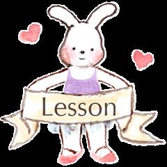うさぎのマーチ♪Ballet Lesson
