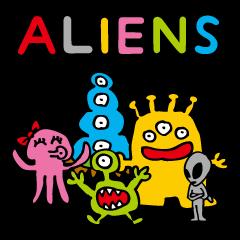 陽気な宇宙人たち