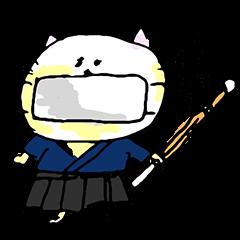 にゃんこ剣士