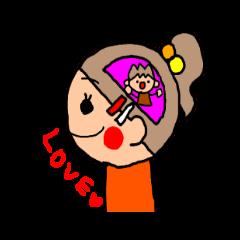 オレンジちゃん ふきだしversion 4