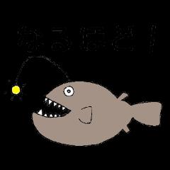 ゆるかわ海の生き物スタンプ