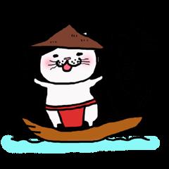 柳川のおしりねこちゃん