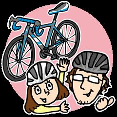 サイクリングが趣味のローディ夫婦の日常♪