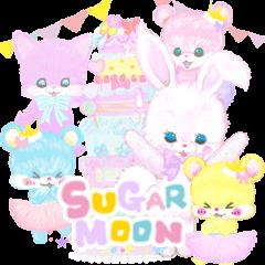 シュガームーンlovely sugarmoon猫ウサギ