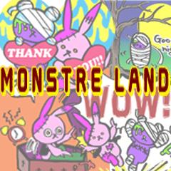 [LINEスタンプ] MONSTER LAND~シザーうさぎとミイラくま~
