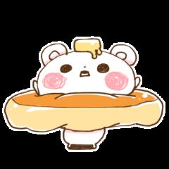 パンケーキくま