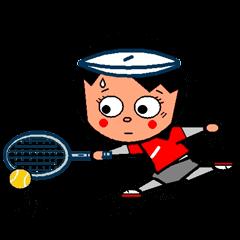 テニスの仲間たち