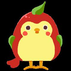 ひばりんごスタンプ