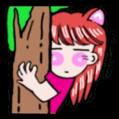 関西弁!ほのぼの猫ちゃん女の子