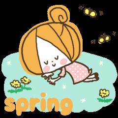かわいい!ガーリースタンプ(春・初夏編)