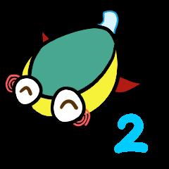 [LINEスタンプ] ゲンゴロン2 (1)