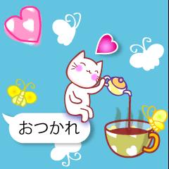 [LINEスタンプ] 春のよく使う言葉■吹き出し●眠い春 (1)
