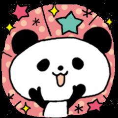 おしゃれなパンダ★