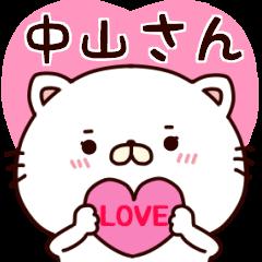 ■中山さんに使えるネコのスタンプ■