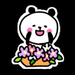 にっこりパンダ2【日常2】