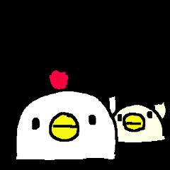 <家族連絡>わさわさヒヨコ100% Duck