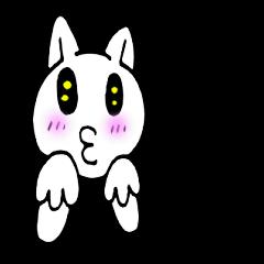 [LINEスタンプ] 感謝猫1