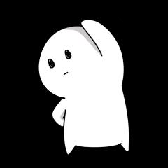 白い子2。