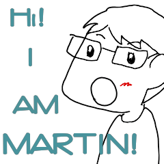 Daily life of Martin and his friends
