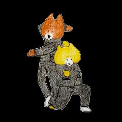 [LINEスタンプ] 踊る柴犬スタンプ