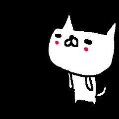 <関西弁>ゆるりとネコたち White cat
