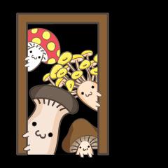 Good(mushroom) friends