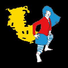 和歌山弁-絵紀州妻図 第弐-exhucise #2-改