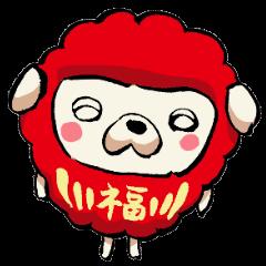 [LINEスタンプ] 福達磨 (1)