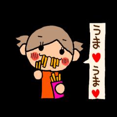 オレンジちゃん ふきだしversion6