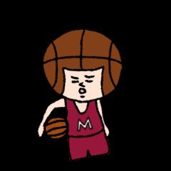 バスケットボールくんの日常