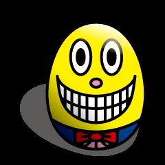 タマゴのチャーリー☆表情は国境を越える!!