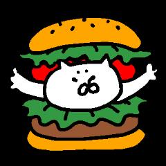 無言のネコ 食べ物編