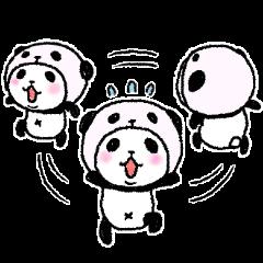 パンダinぱんだ9(文字なし編)