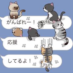 吹き出し子猫1