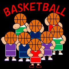 [LINEスタンプ] バスケットボールスタンプ2