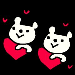 英語の愛くま English LOVE Bear2