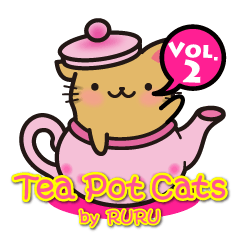 TeaPotCatsVol.2 ティーポットとら by RURU