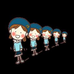 ベレー帽ガール*soraちゃん(改訂版)