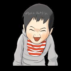 オラオラ系赤ちゃんスタンプ