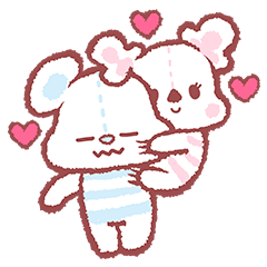 Cotton Bear & Candy Koala (EN)