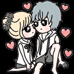Lovers' Sticker