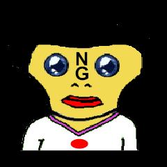 NG walking boy(日本語)