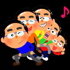 [LINEスタンプ] Cute daddy!【パパがよく使う返信】