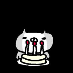 英語のねこ cute cat