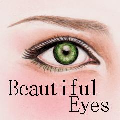 美しい瞳 日本語&英語 日常会話