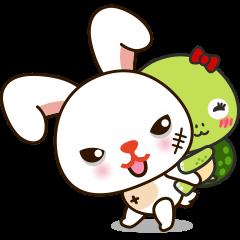 Baby baby rabbit turtle love story